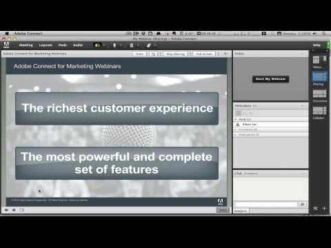 Adobe Connect for Webinars