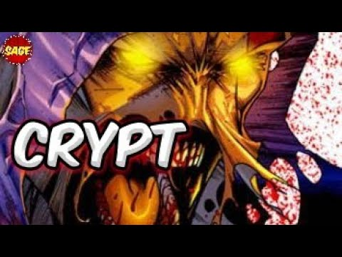 """Who is Image Comics Crypt? """"Supreme"""" Back-Breaker"""
