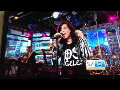 Demi Lovato Heart Attack Good Morning America(GMA) 4/10/13