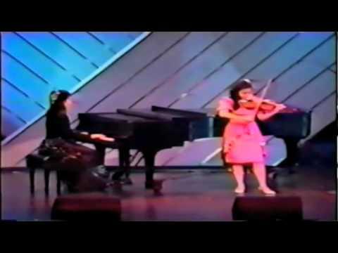 Saint-Saens Rondo Capriccioso - Yi-Jia Susanne Hou Age 12 Live on CTV