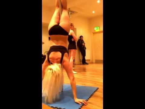 Sophie Woo's Pole Practice