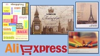 Aliexpress. DIY Postcards, stickers. Покупки с Алиэкспресс. Открытки, стикеры. Товары для рукоделия.(9 postcards: ..., 2016-06-29T21:27:53.000Z)