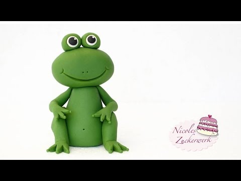 How To Make A D Frog Cake