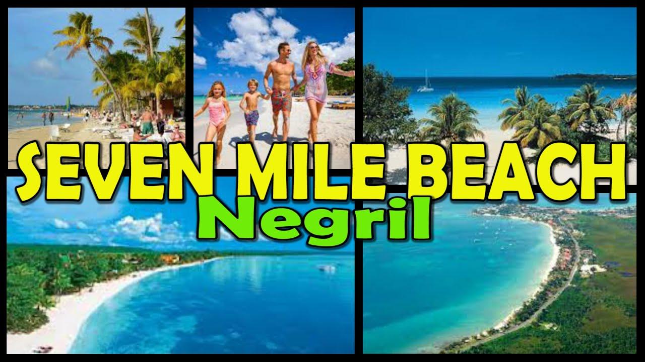 Negril Seven Mile Beach Jamaica 4k