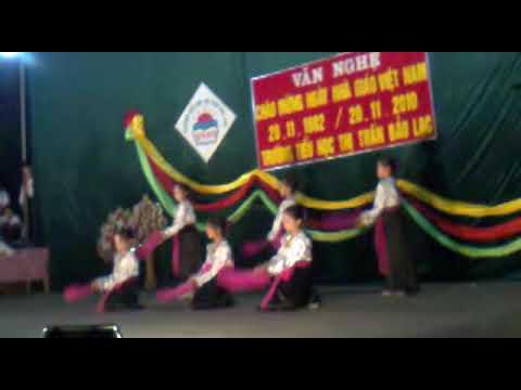 Múa Quạt- Trường tiểu học TT Bảo Lạc Cao Bằng.mp4