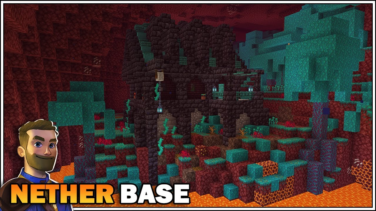 Minecraft 11.111 - Nether Base Tutorial [How to Build]