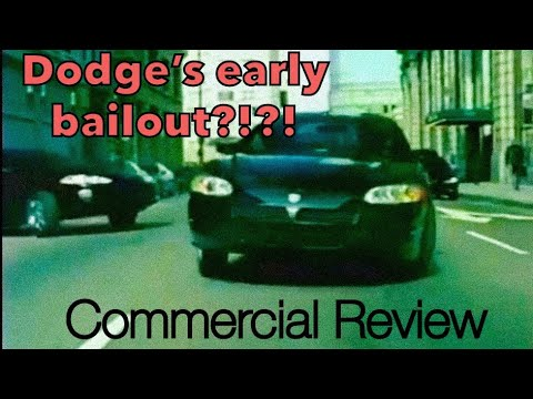 DODGE ROBBED A BANK!?!?     Commercial Review