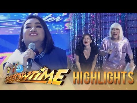 It's Showtime Miss Q & A: Candidate no. 2 wows Vice Ganda and Anne Curtis