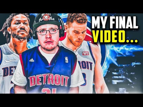 My Final Video...KrispyFlakes Detroit Pistons Rebuild | NBA 2K19