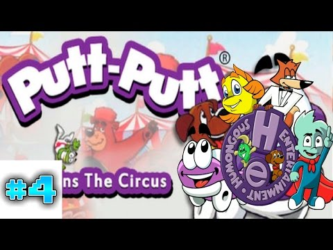 Humongous Entertainment Ep 4 Putt Putt Joins The Circus P3  
