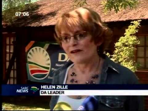DA leader Hellen Zille says the NC is their next target for the 2014 general elections.