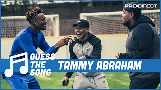 CHUNKZ & YUNG FILLY ft TAMMY ABRAHAM | GUESS THE SONG BATTLE