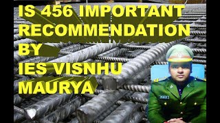 IS456-2000 important recommendation