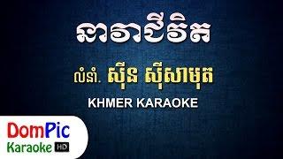 នាវាជីវិត ស៊ីន ស៊ីសាមុត ភ្លេងសុទ្ធ - Nea Vea Chivit Sin Sisamuth - DomPic Karaoke