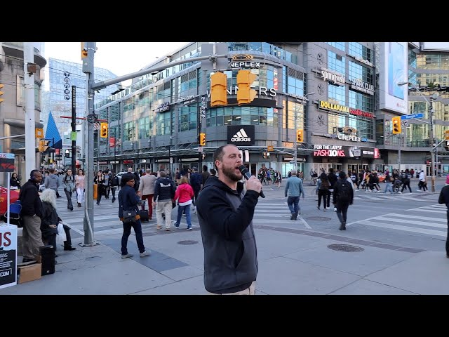 Judgment is coming! Preaching Dundas Square, Toronto