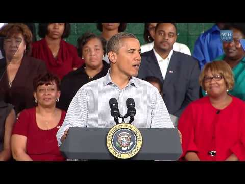 President Obama on the American Jobs Act in Emporia, Virginia