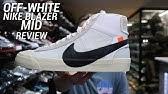 63a6e548b03f Nike Blazer X Offwhite on feet from kickzclub.net - YouTube