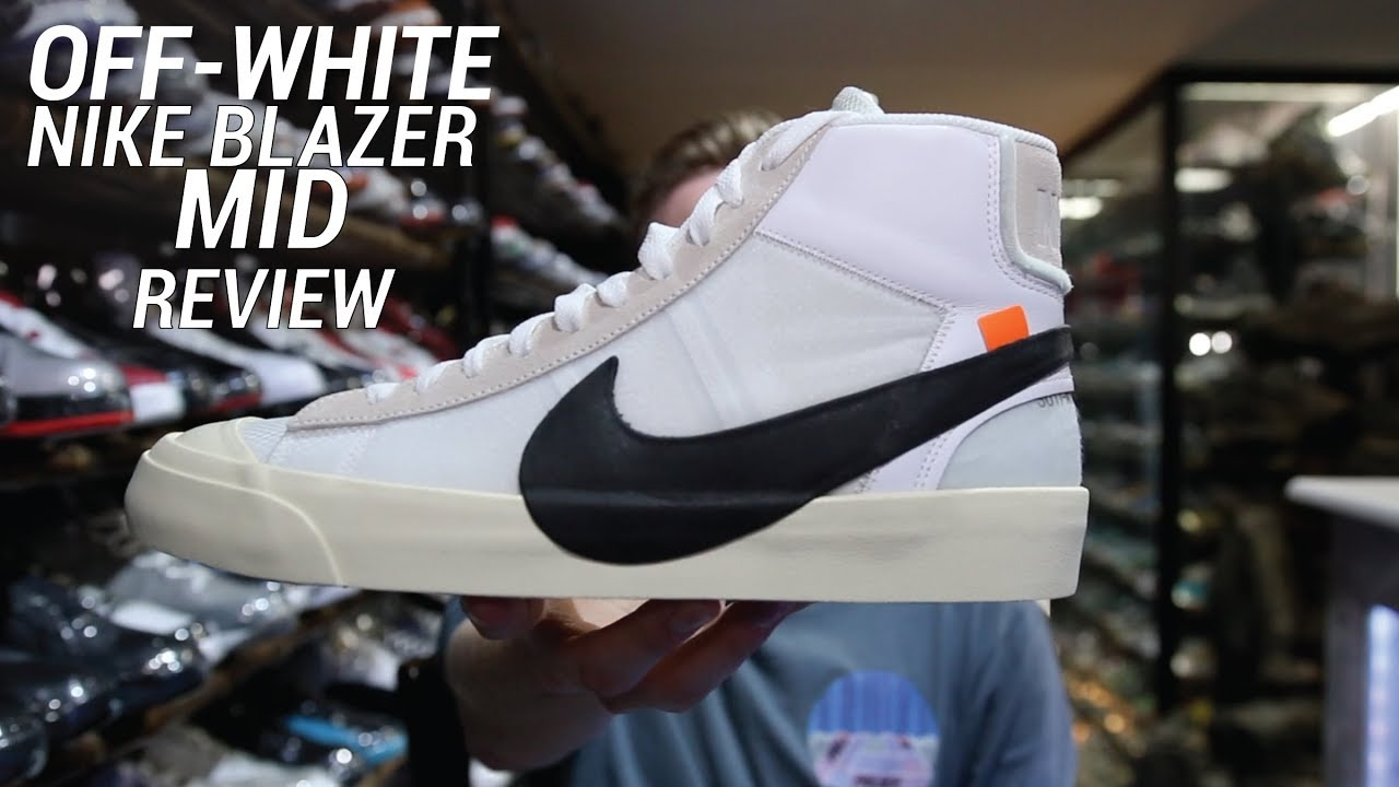 c898dd91ba58e OFF WHITE NIKE BLAZER MID REVIEW - YouTube