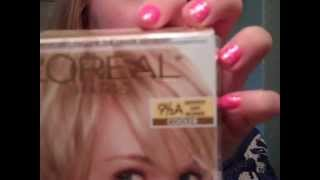 Going Blonder and Root Touch Up w/ New Loreal Superior Preferense Lightest Ash Blonde