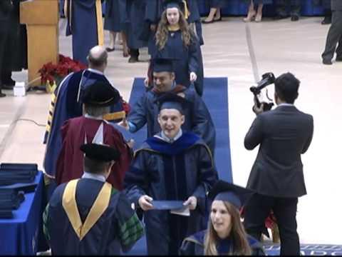 West Virginia University December Graduates Convocation 2011