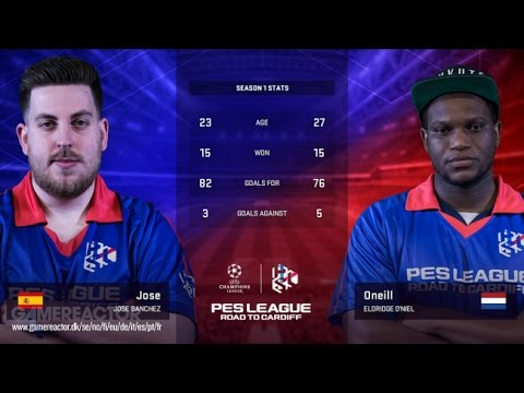 PES 2017 | PESLEAGUE - FINAL | Road to Cardiff EU Season 1 Regional Finals