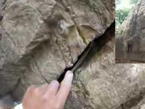 When you take a boulderer Trad climbing...