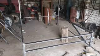 видео Металлические кровати: купить двуспальную железную кровать от производителя