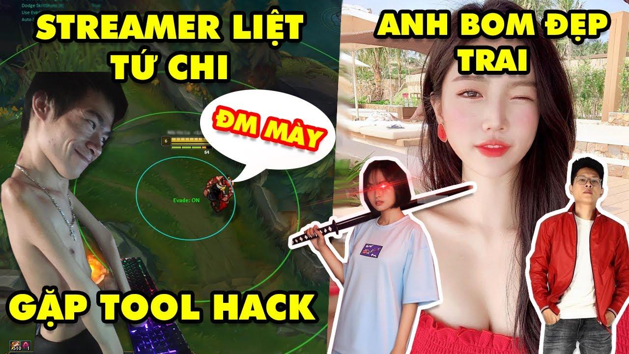 Update LMHT: Streamer khuyết tật đụng độ Tool Hack còn bị chửi, Hotgirl Hàn Quốc bất ngờ khen Bomman