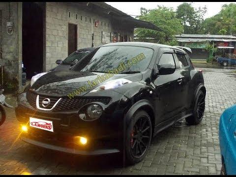 Nissan Juke Bodykit - YouTube