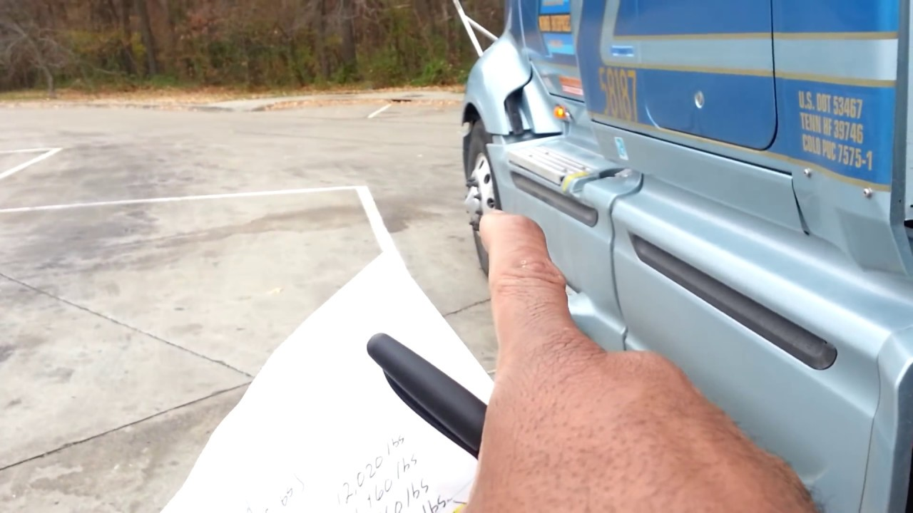Semi Weight Distribution : Mr sinnizter datrucker explains how to adjust your loaded
