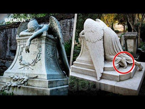 """El """"Ángel de la pena"""". La escalofriante pero hermosa historia detrás de la tumba más famosa"""