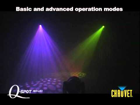 Chauvet Q-Spot 160 LED Moving Head