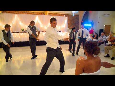 Surprise Groomsmen Dance for Alex
