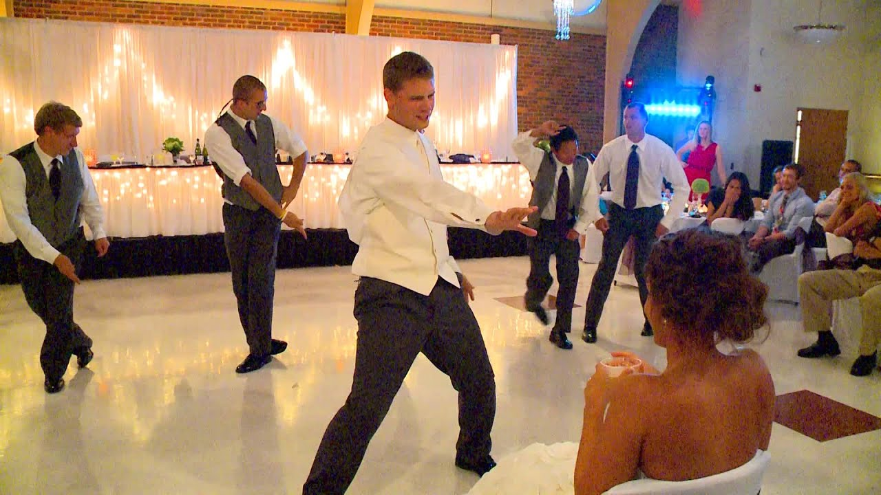 Surprise Gift For Groom On Wedding Day: Surprise Groomsmen Dance For Alex