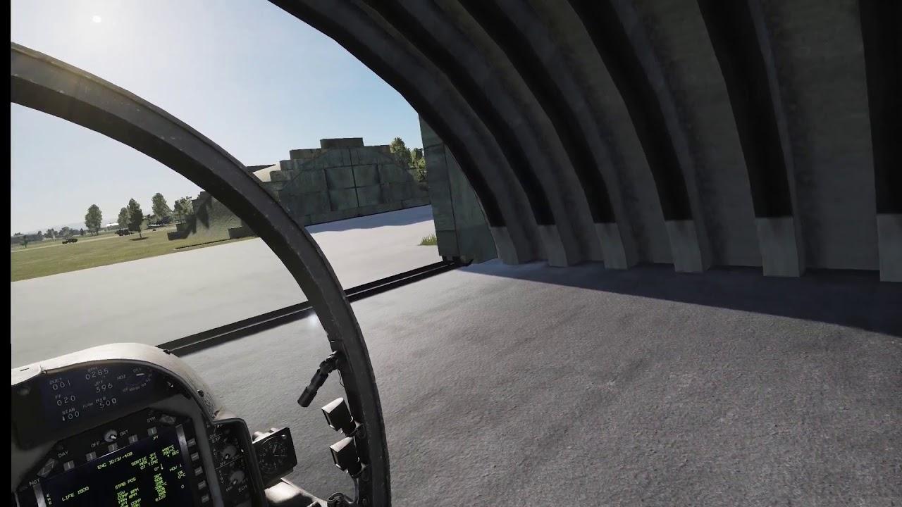 First VR Sortie Recording DCS: AV-8B