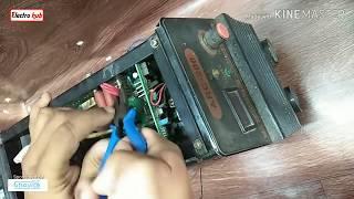 Why O.C. LED Glow in ARC welding machine