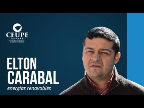 Elton Carabal, Alumno Del Máster En Energías Renovables Y Proyectos Energéticos