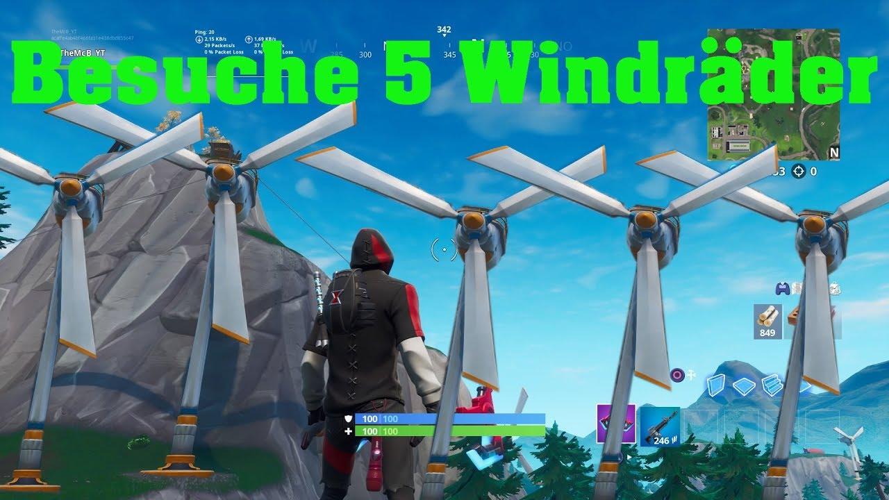 Fortnite Windkraftanlagen