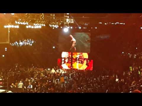 Brock Lesnar Entrance Live WWE MSG