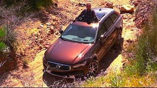 Driving a $55,000 Station Wagon OFF ROAD:  2017 Volvo V90 Cross Country FIRST DRIVE REVIEW (2 of 2)