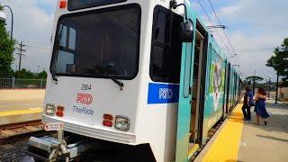 🚊/💺 Denver RTD: D - Line (Light Rail) to Mineral... FULL RIDE!