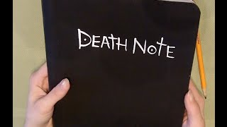 DIY Death Note EASY