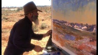 Plein Air In The Flinders Ranges