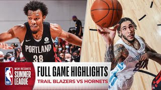 Download TRAIL BLAZERS at HORNETS | NBA SUMMER LEAGUE |  FULL GAME HIGHLIGHTS
