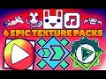 6 EPIC TEXTURE PACKS Para GEOMETRY DASH 2 11 ANDROID Amp STEAM PC 7 mp3