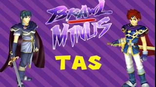 Brawl Minus Roy Vs Marth |TAS|