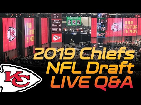 Chiefs Big Board For 2019 NFL Draft Rd 1 - LIVE Q&A | Kansas City Chiefs 2019 NFL