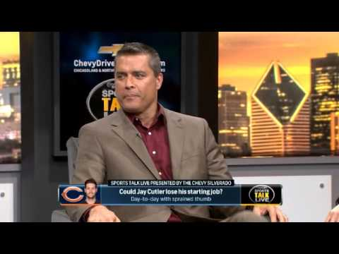 SportsTalk Live: Could Jay Cutler lose his starting job?