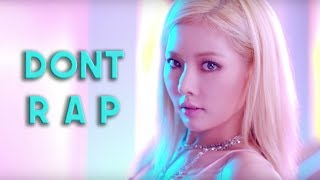 THE HARDEST TRY NO TO RAP CHALLENGE KPOP EDITION