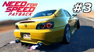 NEED FOR SPEED Payback #3 – Unsere ersten Rennen! | NFS Gameplay German Deutsch
